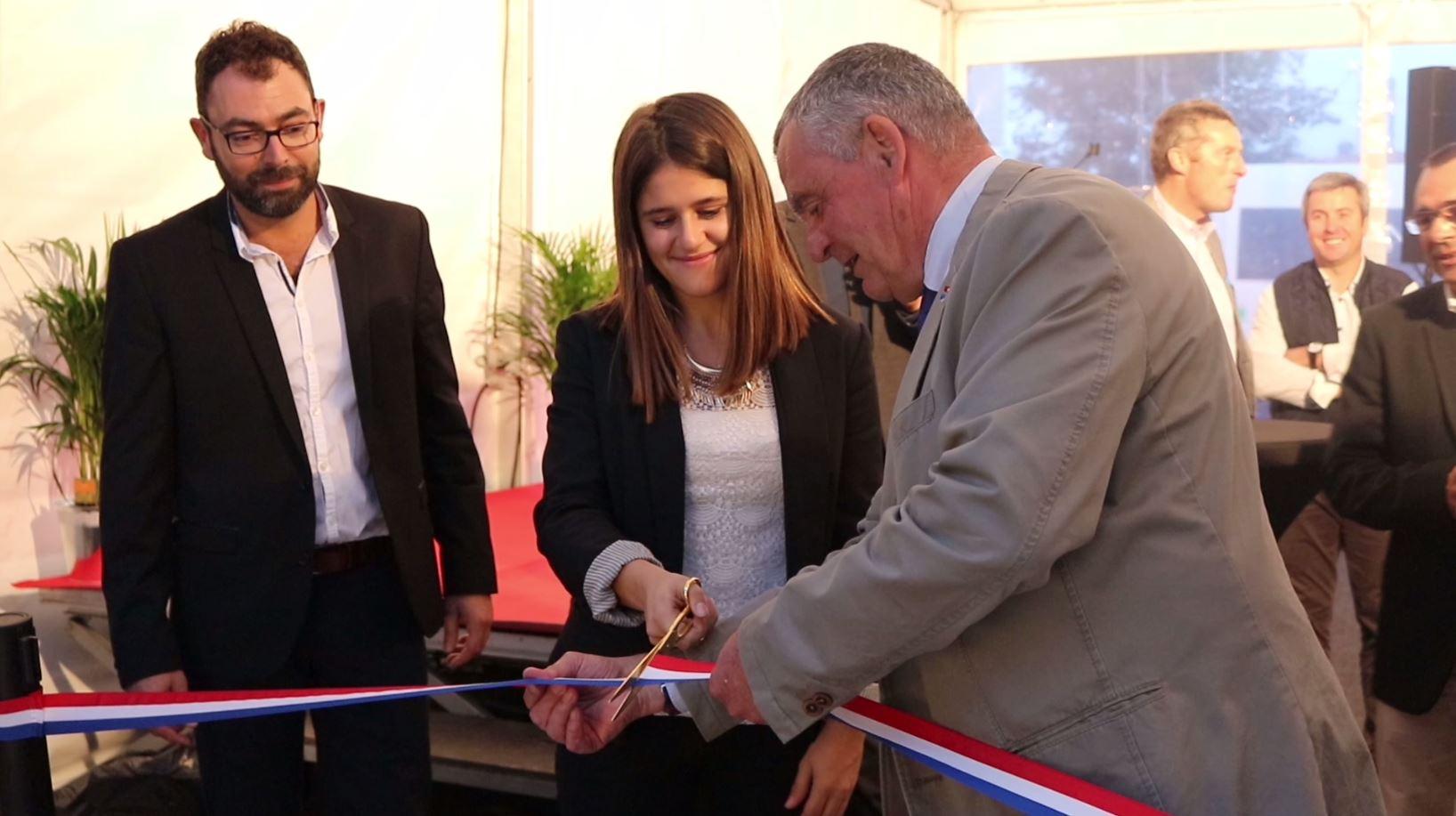 Le ruban a été coupé pour l'inauguration du Super U de Royan !