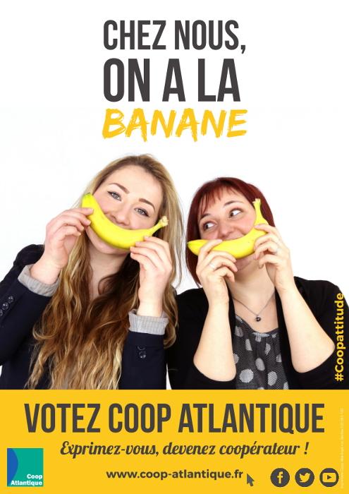 Votez Coop Atlantique : On a la banane !