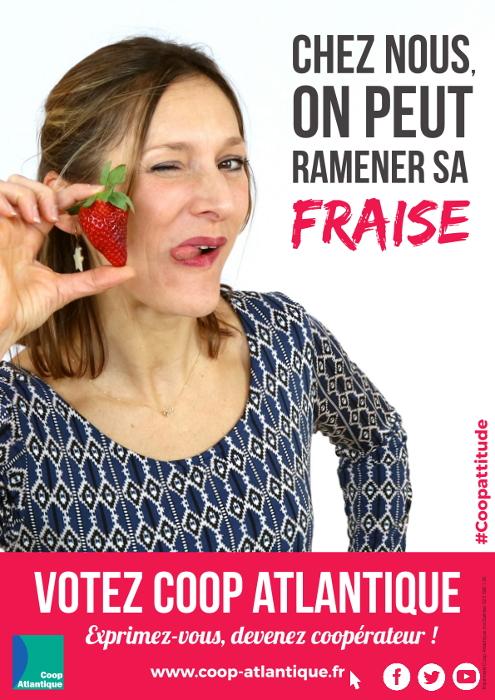 Votez Coop Atlantique : On peut ramener sa fraise !