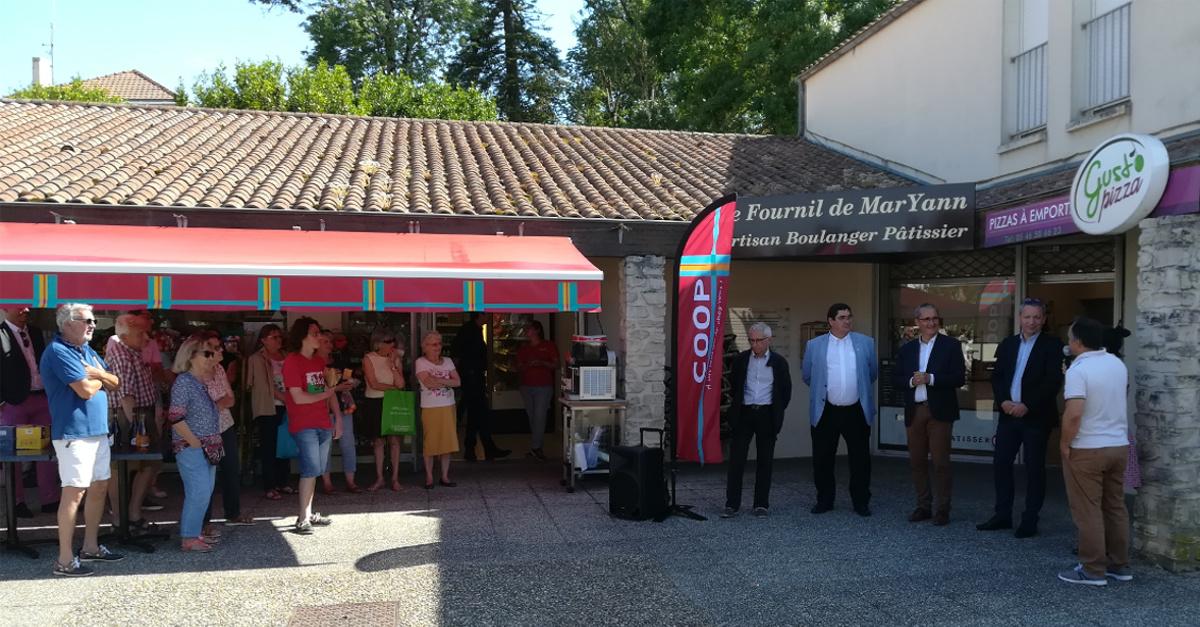 Inauguration Coop L'Houmeau mardi 18 juin