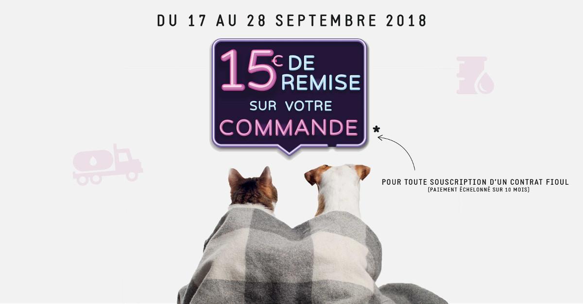 Offre coopérateurs fioul septembre 2018