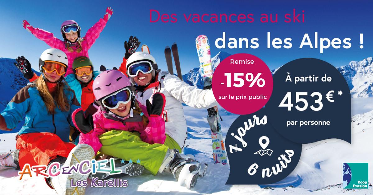Offre ski dans les Alpes