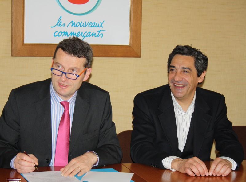 Signature du partenariat avec Système U