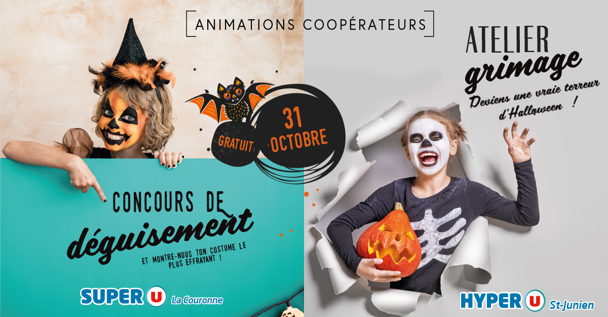 Animations et concours Halloween
