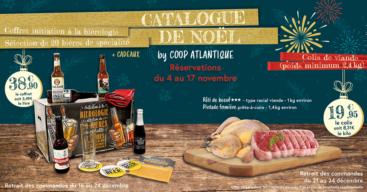 Catalogue de Noël by Coop Atlantique
