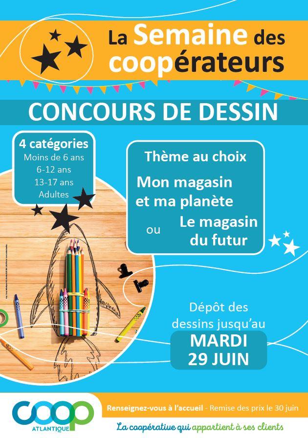 Semaine des Coopérateurs - Concours de dessins