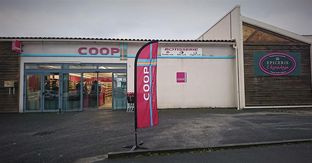 Votre Coop Saint-Georges-des-Coteaux rouvre ses portes !